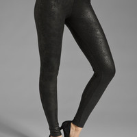 krisa Crushed Coated Legging in Black from REVOLVEclothing.com