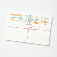 Made To Measure Recipe Cards