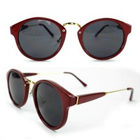 Street Red Frame Sunglasses