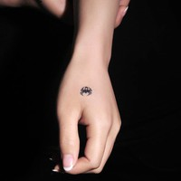 4 Pcs Vivid Small Insects Temporary Waterproof Tattoo Stickers - Tattoos - Makeup - Women Free Shipping