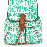 Safari Zoo Backpack - Bags &amp; Wallets - Bags &amp; Accessories - Topshop USA