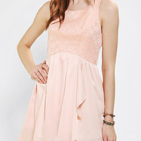 Urban Outfitters - Ladakh Jacquard Bodice Tulip Dress