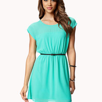 Keyhole Georgette Dress | FOREVER 21 - 2050858648