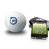 Sphero App-Controlled Wireless Robotic Ball at BrookstoneBuy Now!