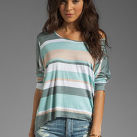 dolan Slub Jersey Oversized Tee in Lake Hollywood Stripe from REVOLVEclothing.com