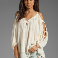 Jen's Pirate Booty Majestic Top in Natural from REVOLVEclothing.com