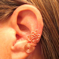 Non Pierced &quot;Celtic Priestess&quot; Ear Cuff 1 Cuff Color Choices