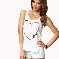 High-Low Love Top | FOREVER 21 - 2075268639