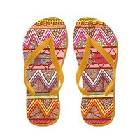 Two Feathers Flip Flops> Artisticallylala