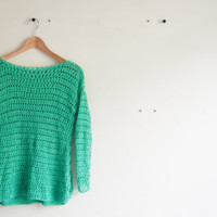 Easy crochet pattern - sweater