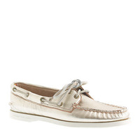 Sperry Top-Sider® for J.Crew Authentic Original 2-eye metallic boat shoes - Sperry Top-Sider - Women's moved to shop by category - J.Crew