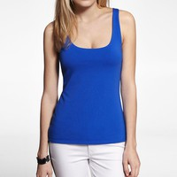 FITTED SCOOP NECK TANK