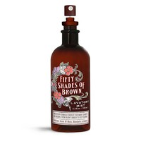 Fifty Shades of Brown Lavatory Mist - Moss, Mandarin &amp; Ameber Scents - Whimsical &amp; Unique Gift Ideas for the Coolest Gift Givers