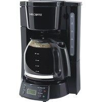 Mr. Coffee - 12-Cup Programmable Coffeemaker - Black