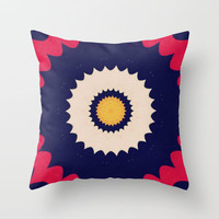 Medallions Throw Pillow by Abstracts by Josrick