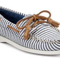 Sperry Top-Sider Women&#x27;s Cloud Logo Authentic Original 2-Eye Boat Shoe