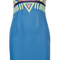 Mara Hoffman Embroidered twill mini dress – 49% at THE OUTNET.COM