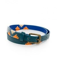 Ciudad Belt in Blue - ShopSosie.com