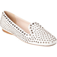 Prada Studded Smoking Slipper at Barneys.com