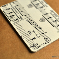 Vintage Journal Cards 3 x 4 Project LifeSheet Music by GMGVintage