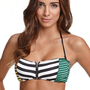 Volcom Dotted Line Zip Bandeau Top at PacSun.com