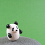 Little Panda - Hand Sculpted Miniature Polymer Clay Animal
