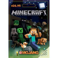 Walmart: Mojang Minecraft $26.95 Game Card