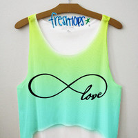 Forever Love Crop top | fresh-tops.com
