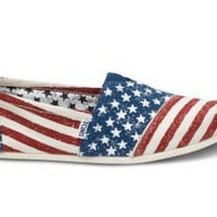 Stars and Stripes Men&#x27;s Vegan Classics | TOMS.com