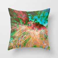 Dragon Dream  Throw Pillow by Gréta Thórsdóttir
