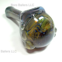 Glass Pipe SPACE PIPE, Galaxy Hand Blown Glass, READY for Shipping, Color Changing, Cgge Team