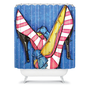 DENY Designs Home Accessories | Madart Inc. Diva Slippers Shower Curtain