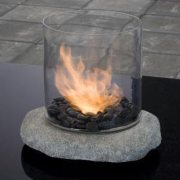 Eco-Glass Fireplace - Gaiam