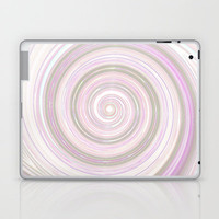 Re-Created Spin Painting No. 17 Laptop &amp; iPad Skin by Robert Lee