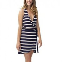 LAmade Striped T Back Tank Dress