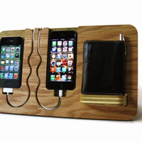 Iphone 4, 4s, 5, ipod touch, His &amp; Hers Docking Valet