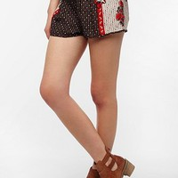 Ecote Nalani Wood-Blocked Runner Short