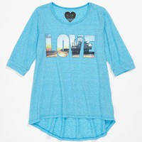LA Social T '3rd Destination' Tee (Big Girls) | Nordstrom
