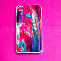 Watercolor painting iPhone 4 Case, iphone 4 Cases,iphone case,  Iphone 4s Cover,Case for iPhone 4