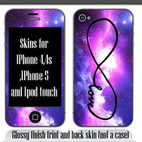 Fantacy sky skin IPhone 4, 4s and IPhone 5, Ipod Touch (Please choose your model)