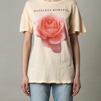 Hopeless romantic rose-print T-shirt | Wildfox | MATCHESFASHIO...