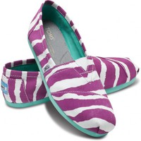 Purple Zebra Women&#x27;s Vegan Classics