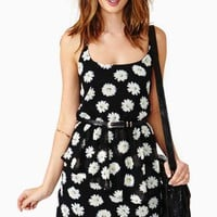 Lazy Daisy Peplum Dress