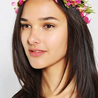 Tropical Flower Crown Headwrap