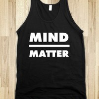 mind over matter workout tank