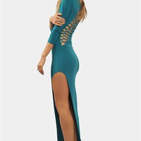 After Dark Maxi Dress - Jade