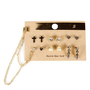 Gold Assorted Stud Earrings