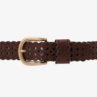 Cutout Faux Leather Belt | FOREVER 21 - 2026422893