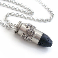 Upcycled Bullet Pendant Necklace Ammo by TrashAndTrinkets on Etsy