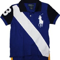 Polo Ralph Lauren Toddler Boy's Big Pony Banner Polo:Amazon:Clothing